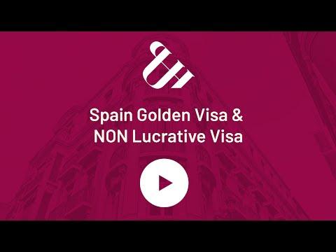 Spain Golden Visa & NON Lucrative Visa