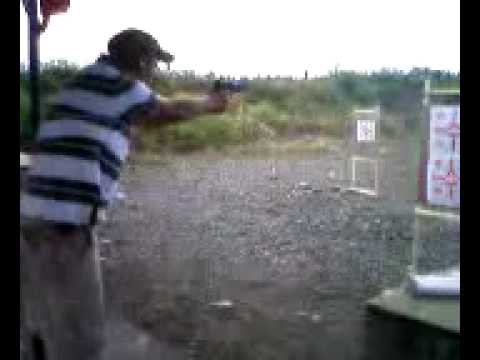 Drawing Sig P229R from sitting concealed and engaging three targets