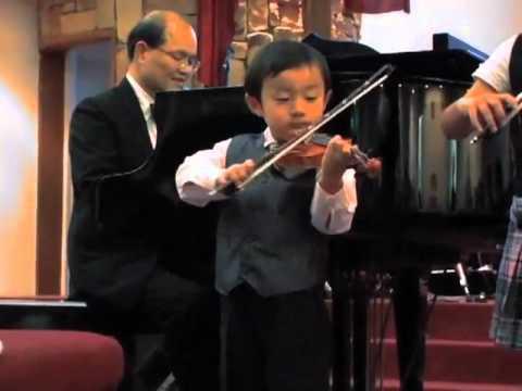 Tustin Music Student Recital- Twinkle, Twinkle, Little Star- violin duet