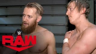No shame in losing for Webster & Andrews: Raw Exclusive, Nov. 11, 2019