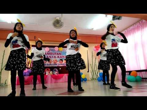 Pencuri Hati Dance (Ayda Jebat) - Cover by SKS Kids