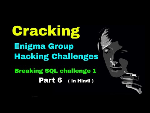 Enigma Group SQL Hacking Challenges 1