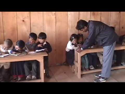 Himalayan Elementary School in Melamchigau, Helambu, Nepal
