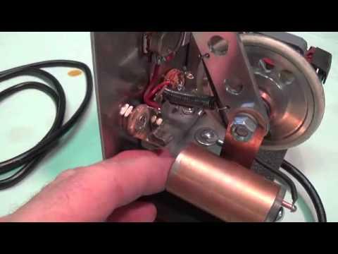 Homemade DeArmond Electromechanical Tremolo From Scrap Parts
