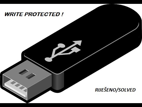 how to fix usb drive write protected