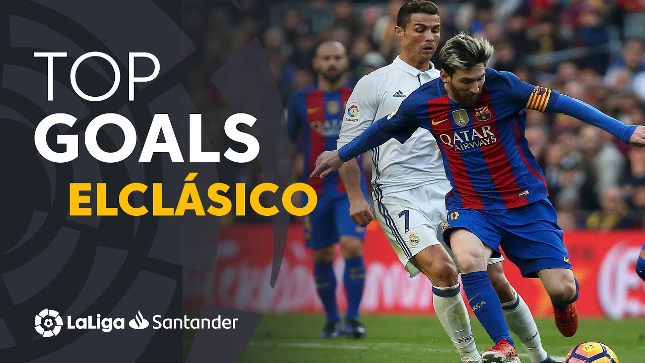 TOP 10 GOALS ElClásico 2009 - 2019