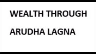 Wealth through Arudha Lagna