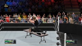 WWE 2K17 - How To Lay Your Opponent On A Table [PS4 & Xbox One]