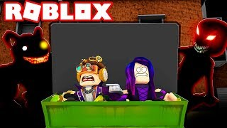 "NASCONDINO WITH THE MOSTRISONS ON ROBLOX!! ""A LIGHTS OFF"""