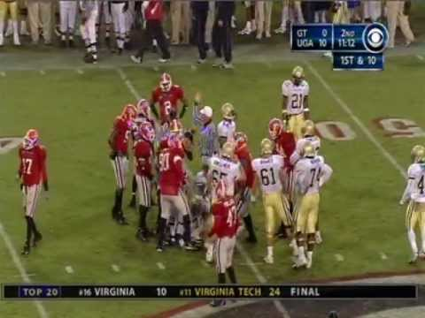 2004 Georgia Bulldogs vs. Georgia Tech Yellow Jackets