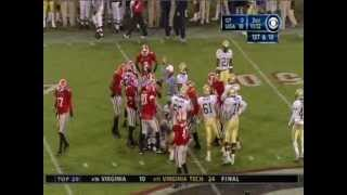 2004 Georgia Bulldogs vs. Georgia Tech Yellow Jackets