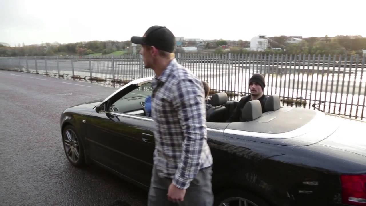photo of Jonny Wilkinson  - car