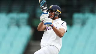 India batters prithvi shaw and shubman gill showed their class with a flurry of boundaries against the new pink kookaburra ball, hammering australia bo...
