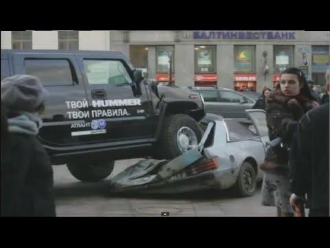 Избранные автомобильные курьёзы смотреть видео прикол - 6:15