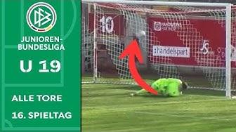 Irrer Dusel-Elfmeter bringt Köln den Sieg | Alle Tore der A-Junioren-Bundesliga | 16. Spieltag