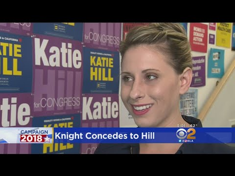 Rep. Steve Knight Concedes To Katie Hill In 25th District Race