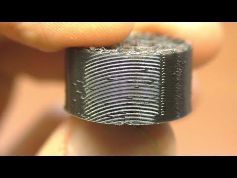 Прыщи / Пупырки при печати 3D принтера Anycubic Kossel Pulley