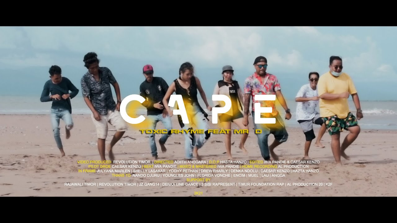 Download CAPE -  TOXIC RHYME ft. MR. D (OFFICIAL MV)