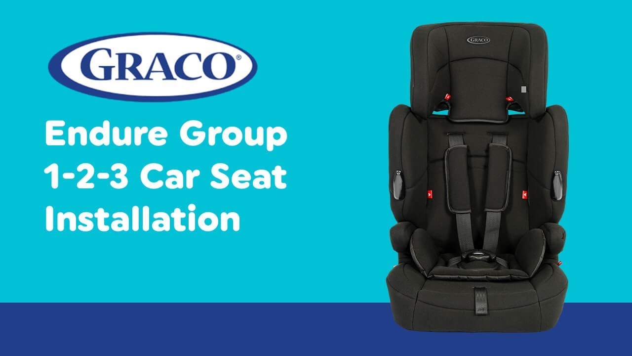 005383e4bbf7 Installation Guide for Graco - Endure Group 1-2-3 Car Seat| Smyths Toys