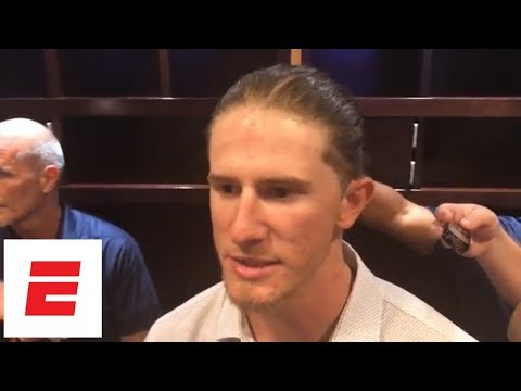 Josh Hader, Lorenzo Cain and Christian Yelich react to Hader's old offensive tweets surfacing | ESPN