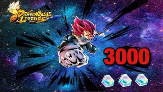 3,000 Crystals For the new SSG vegeta!! Did I Get him?!