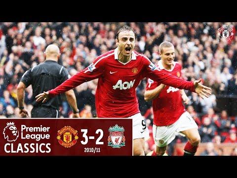 Berbatov hat-trick sinks Liverpool   Manchester United 3-2 Liverpool (2010)   Classic Matches