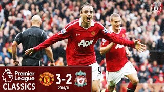 Berbatov hat-trick sinks Liverpool | Manchester United 3-2 Liverpool (2010) | Classic Matches