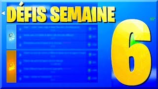 LISTE DES DÉFIS SEMAINE 6 SAISON 8 SUR FORTNITE BATTLE ROYALE !