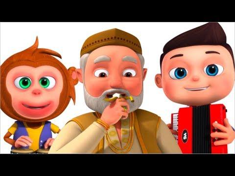 Lalaji Ne Kela Khaya - लाला जी ने केला खाया - Bal Geet - Minnu & Mintu Hindi Rhymes by Videogyan