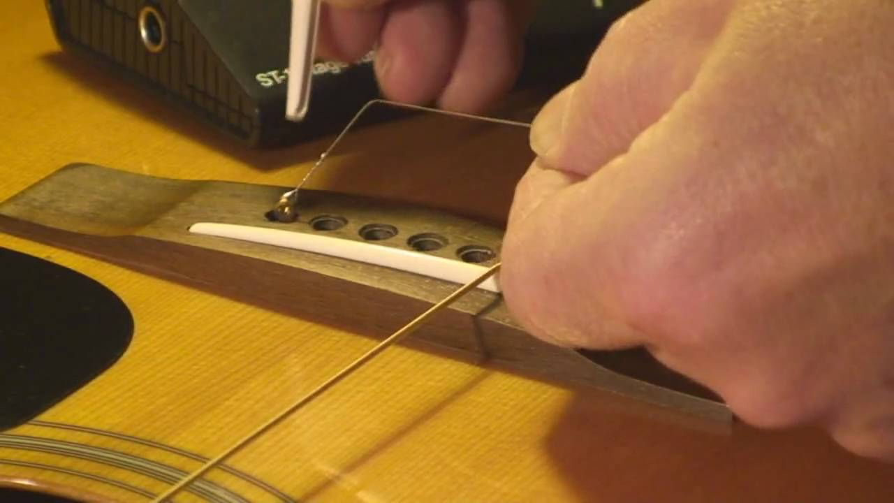 Yamaha Acoustic Guitar Repair on