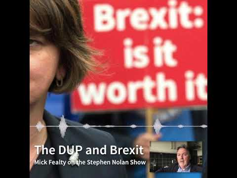 What game are the DUP playing within the much bigger game of #Brexit?
