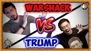 Hearthstone: Titans Clash - Warshack Vs Trump