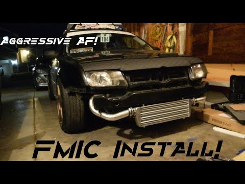 MK4 Jetta 1.8t Front Mount Intercooler Install