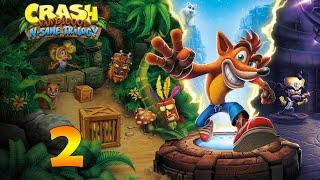 Crash Bandicoot N. Sane Trilogy | Gameplay en Español | Episodio 2 | Primeras muertes