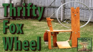 Thrifty Fox Spinning Wheel - AVAILABLE NOW
