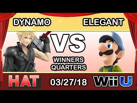 HAT 15 - iNX | Dynamo (Cloud) Vs. BSD | Elegant (Luigi) Winners Quarters - Smash 4
