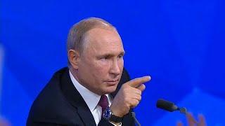 Az euronews riporterének kérdésére is válaszolt Putyin