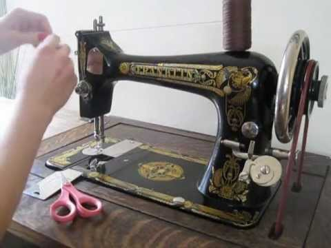 franklin treadle sewing machine