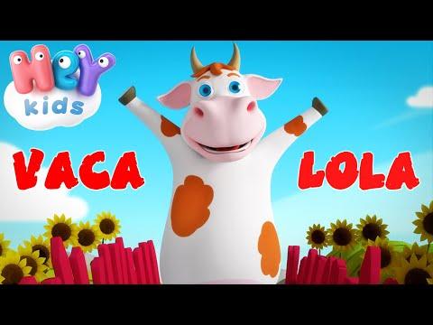 HeyKids – La Vaca Lola – Canciones infantiles | HeyKids Espaol – Cantece pentru copii in limba spaniola