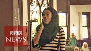 US first women-only 'mosque' BBC News