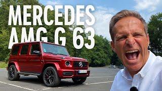 Mercedes-AMG G 63   Warum ich die 585-PS-Schrankwand so liebe!   Traumauto?   Matthias Malmedie