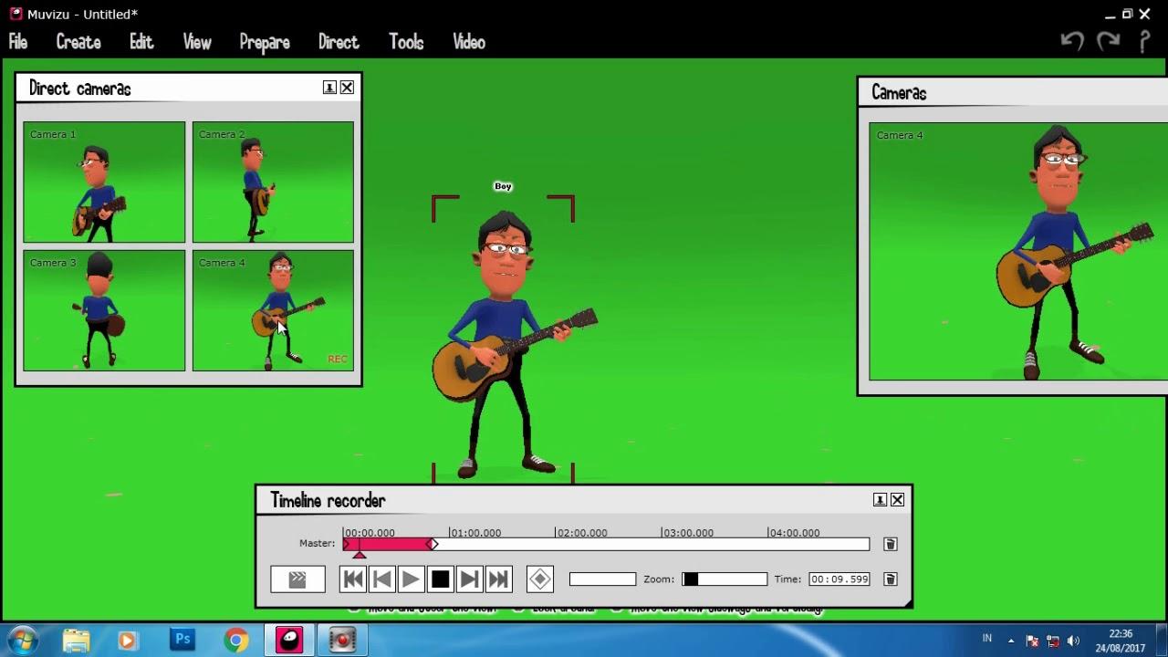 Tutorial Membuat Animasi Kartun Dengan Software Muvizu Corel X8