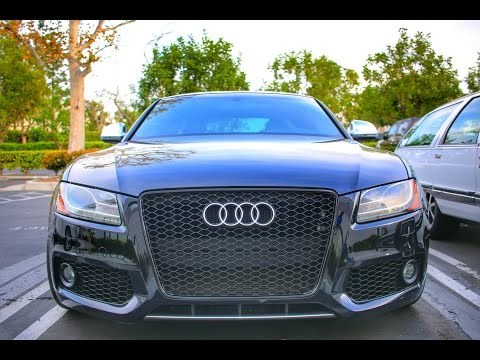 Audi S5 Grille Install
