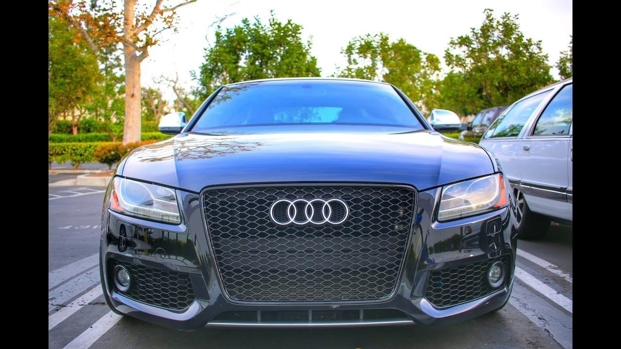 Audi S5 Grille Install Youtube