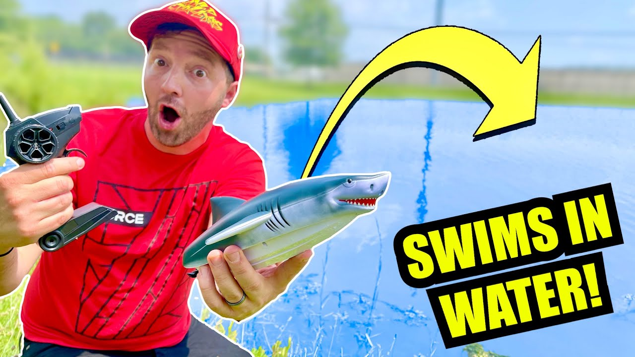RC SHARK BOAT ADVENTURE (Transforms Into Jaws!)