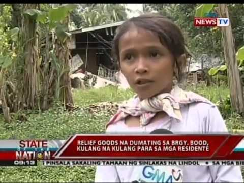 SONA: Relief goods na ipinadala sa brgy. Bood sa Maribojoc, Bohol, kulang daw
