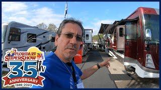 Florida RV SuperShow 2020 - Coachman Sportscoach