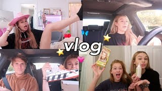 VLOG | driving, dying hair, new shoes, yeehaw🤠