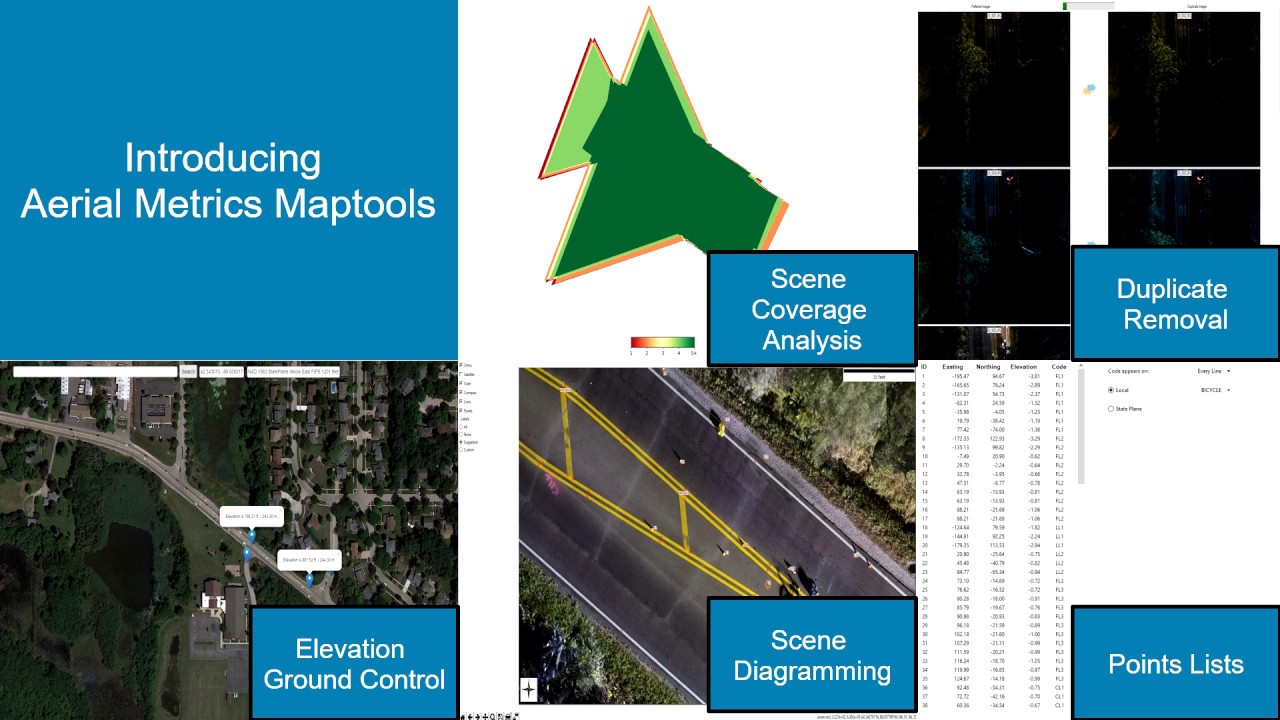 Aerial Metrics Maptools   Aerial Metrics