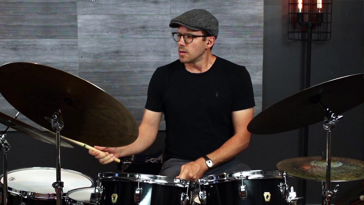Improvisation drum solo Carter McLean